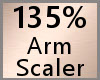 Arm Scaler 135% F A