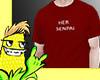 Her Senapi Red Shirt v2