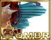 QMBR Fin Mermaid Back T