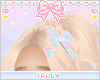 ・゚✧ Striped Bow