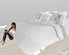 White Lux bed