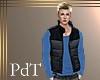 PdT Blk&Gray Puff Vest M