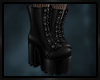 \/ Chunky Gothic Boots