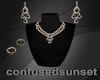 Dark Sapphire Jewel Set