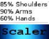 Small Hand Arm Shoulders