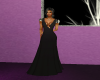 Long Flowing Black Gown