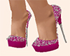B!Heels Wed Pink