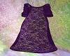 Purple Lace Layer Robe L