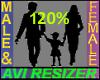Avatar Scaler 120%