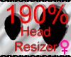 *M* Head Resizer 190%