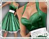 !Satin Doll green