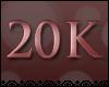 ~D~ 20k Support Sticker