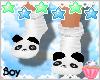 ! Panda Socks M Boy Kids