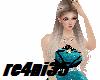 (R)blue diamond dress