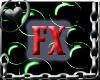 FX Bubbles Frame Toxic