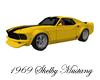 ~CA~Yellow Mustang