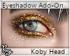 Gold Eyeshadow -Koby