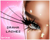 dramatic paper lashes