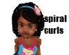 kids braids Spirals