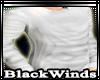 BW| White Crewneck