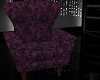 Purple Lace Chair