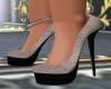 BK Grey & Black Heels KK