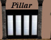 (AF) Black Marble Pillar