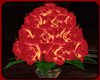 !    RED ROSES POT
