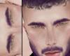 Brows, purple.