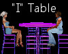 """""""I"""" Club Table for 4"""