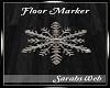 Snowflake Floor Marker