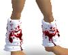 Bloody Leg Warmers