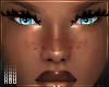 h. Dark Blushy Freckles