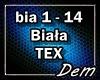 !D! Biała TEX
