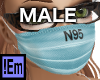 !Em N95 Surgical Mask M