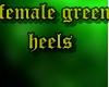 female toxic heels