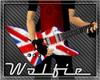 UnionJack Xpolrer Guitar