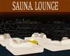 SAUNA LOUNGE /PILLOWS