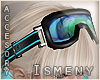 [Is] Ski Googles Cyan