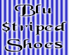 *M* Blu $triped Shoes