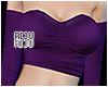 💜 Off Shoulder Purple