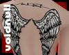 [V]AngelWings Upper Back