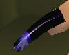 Dark Blue Aurora Nails