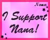 Nana 10k support sticker