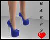 Blue Molly Heels