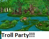 Kids Troll Party Garden