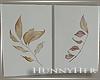 H. Fall Leaf Canvas