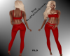 RQ-Full Outfit  Red*RLS