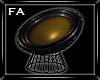 (FA)Club Chair Gold