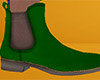 Green Chelsea Boots 3 M